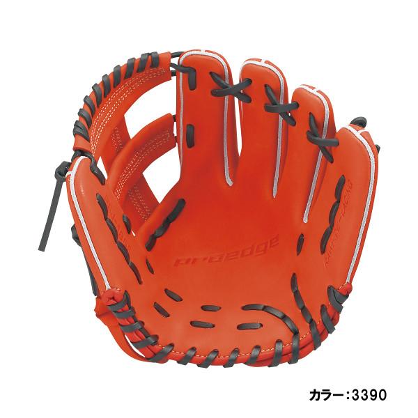 エスエスケイ(SSK) proedge(プロエッジ) 少年軟式内野手用 グラブ ジュニア (18fw) レディッシュオレンジ×ブラック レングス:L 右投げ pej186f-3390 野球用品