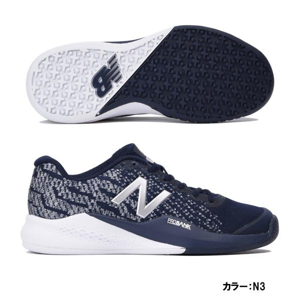 ニューバランス(Newbalance) テニスシューズ シューズ レディース (18fw) ネイビー オムニ/クレーコート 2E wco996n32e