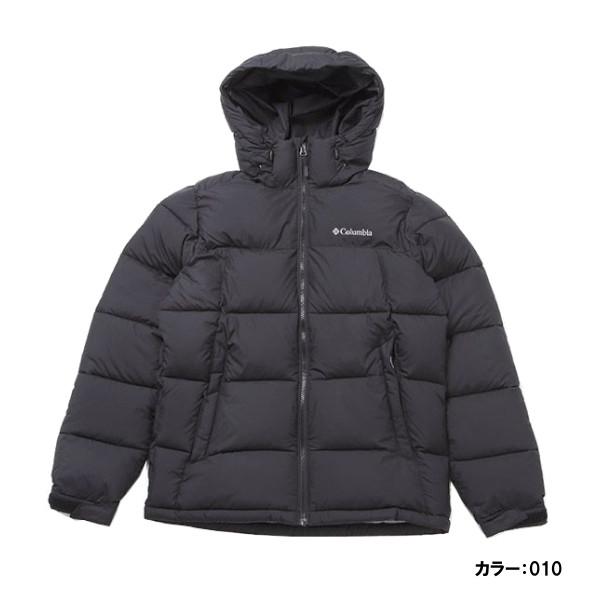 コロンビア(Columbia) パイクレークフーデッドジャケット ジャケット メンズ (18aw) Black ブラック we0020-010