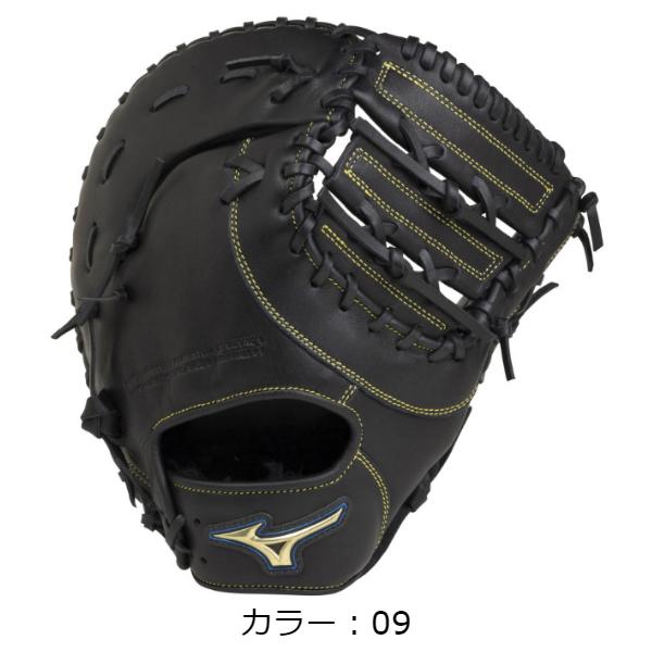 ミズノ(mizuno) 軟式用 セレクトナイン 軟式グラブ 一塁手用 (20SS) ブラック 右投用 1AJFR22700-09【P10】