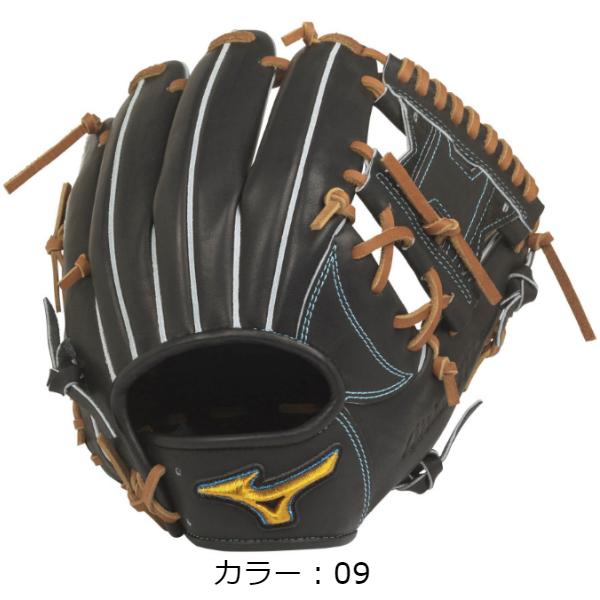【BSSショップ限定モデル】ミズノ(mizuno) 硬式用 ミズノプロ フィンガーコアテクノロジー 硬式グラブ 内野手用I (20SS) ブラック 右投用 1AJGH22103-09 野球用品