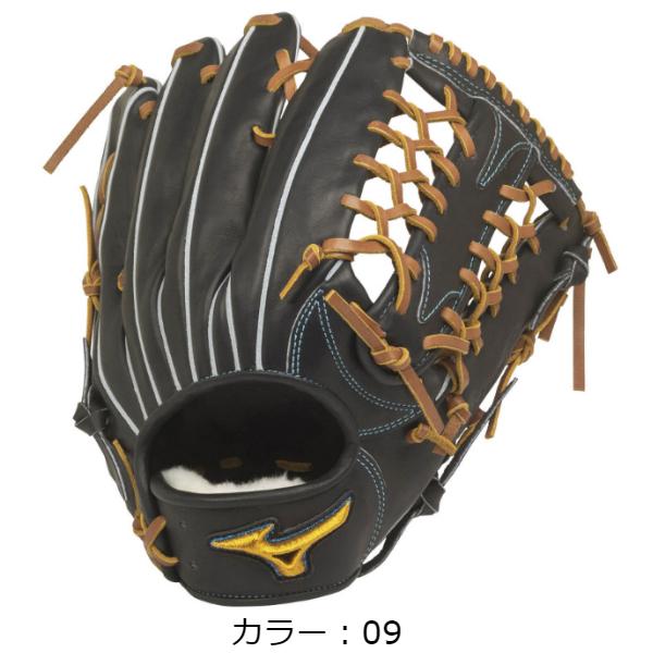 【BSSショップ限定モデル】ミズノ(mizuno) 軟式用 ミズノプロ フィンガーコアテクノロジー 軟式グラブ 外野手用 (20SS) ブラック 右投用 1AJGR22107-09 野球用品