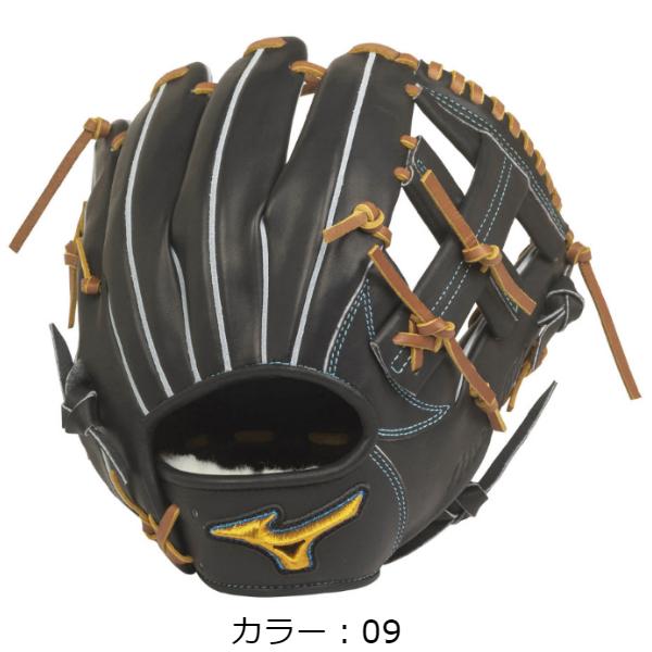 【BSSショップ限定モデル】ミズノ(mizuno) 軟式用 ミズノプロ フィンガーコアテクノロジー 軟式グラブ 内野手用II (20SS) ブラック 右投用 1AJGR22113-09 野球用品