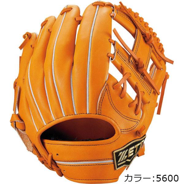 ゼット(zett) ネオステイタス 軟式グラブ 二塁手・遊撃手用 (19SS) オレンジ 右投用 BRGB31910-5600 野球用品