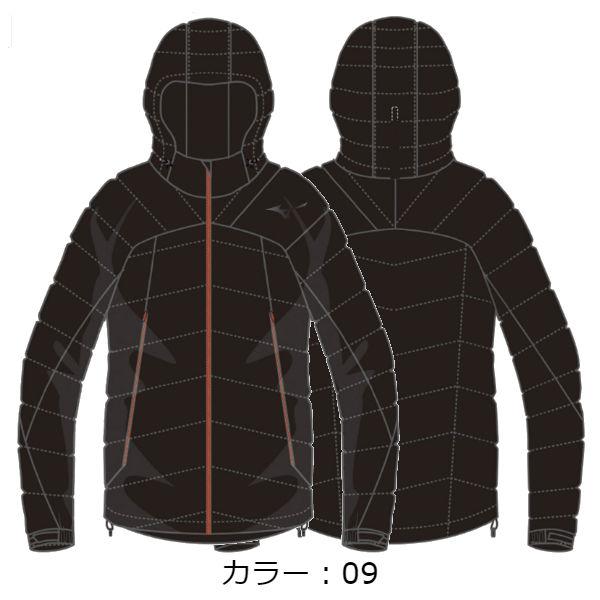 ミズノ(mizuno) ブレスサーモミドルウェイトRGダウンジャケット ジャケット (18FW) ブラック A2ME855109