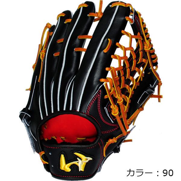 ワールドペガサス(worldpegasus) 硬式 グランドペガサス 外野手用 硬式グラブ (19SS) ブラック 右投用 WGKGP87-90 野球用品