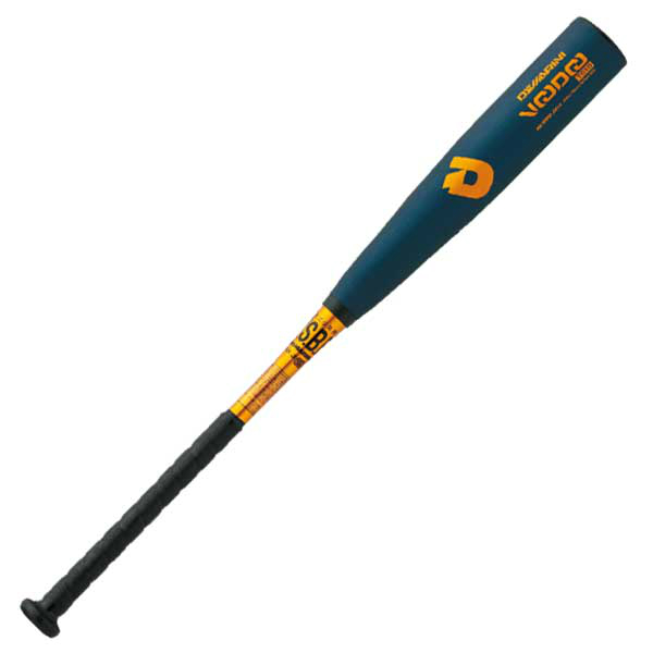 ディマリニ(DeMARINI) 少年軟式金属バット ヴードゥTS19 H&H 少年軟式野球用バット (19SS) 78cm Bブラック/ゴールド WTDXJRSVJ【ss2003】