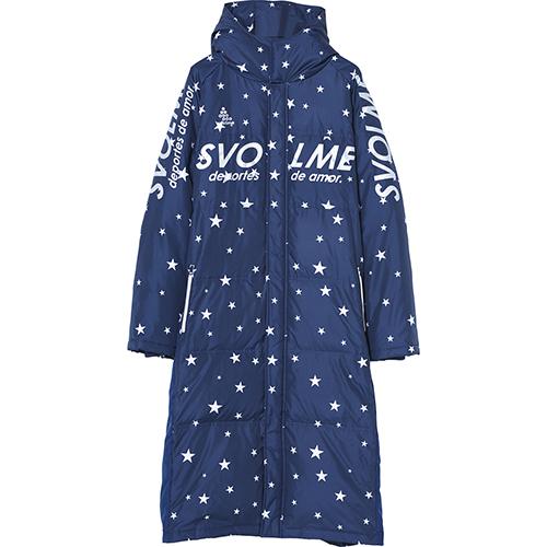 スボルメ(SVOLME) ダウンベンチコート (18aw) ブラック M-L 183-83104-NAVY