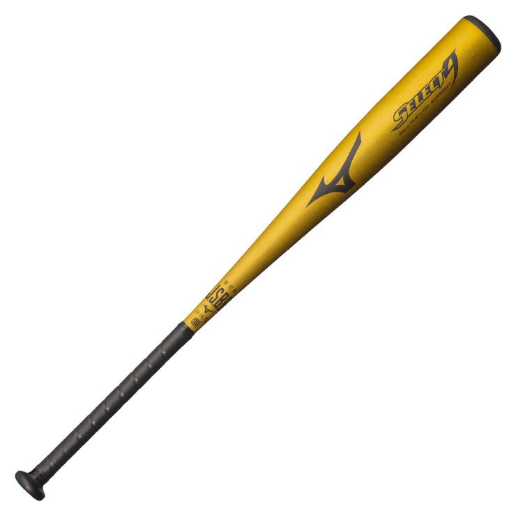ミズノ(mizuno) 一般軟式用バット セレクトナイン (19ss) ゴールド 83cm 平均670g トップバランス 1CJMR13783 野球用品