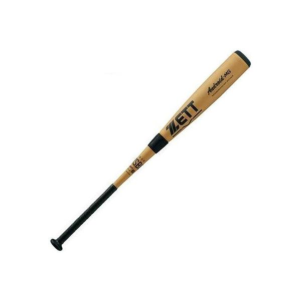 ゼット(ZETT) アンドロイドMG 一般軟式アルミバット (19ss) シャンパンゴールド 85cm/730g ミドルバランス BAT32985-8201 野球用品