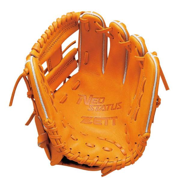 ゼット(zett) ネオステイタス 少年軟式グラブ オールラウンド用 (19ss) オレンジ BJGB70910-5600 野球用品