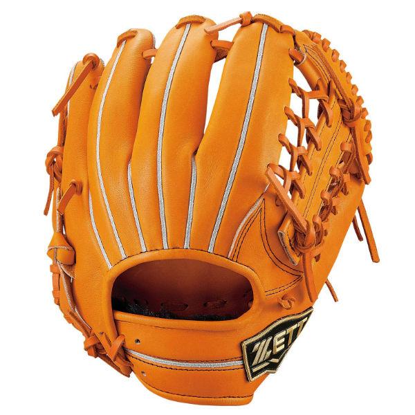 ゼット(zett) ネオステイタス 少年軟式グラブ オールラウンド用 (19ss) オレンジ BJGB70920-5600 野球用品