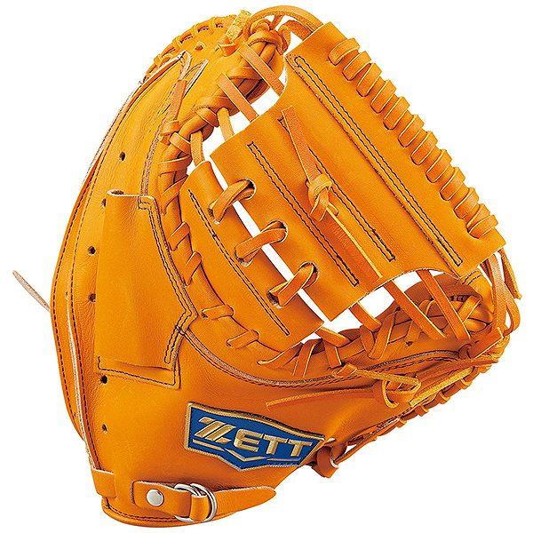 ゼット(ZETT) ネオステイタス 一般軟式捕手用 キャッチャーミット (19ss) オレンジB 右投げ用 BRCB31912-5600B 野球用品