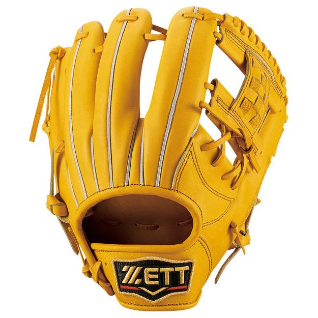 ゼット(ZETT) プロステイタス 一般軟式内野手用 (19ss) トゥルーイエロー 右投げ用 サイズ1 BRGB30910-5400 野球用品