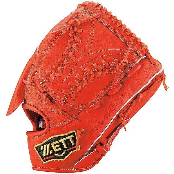 ゼット(ZETT) プロステイタス 一般軟式投手用 (19ss) ディープオレンジ 右投げ用 サイズ5 BRGB30921-5800 野球用品