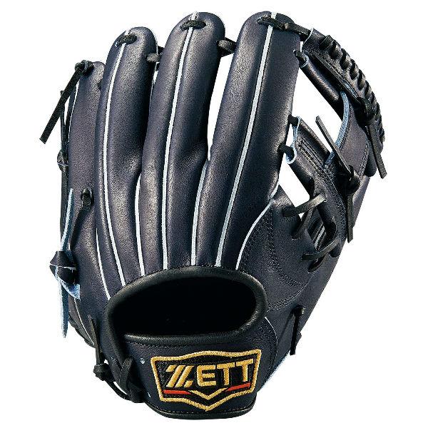 ゼット(ZETT) プロステイタス 一般軟式内野手用 二塁手・遊撃手用 (19ss) Nブラック 右投げ用 サイズ4 BRGB30960-1900N 野球用品