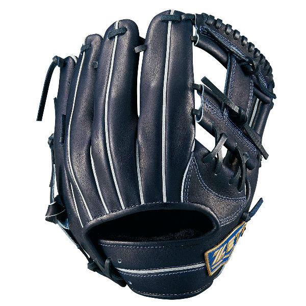 ゼット(ZETT) ネオステイタス 軟式野球 セカンド・ショート用内野手用グラブ (19ss) NブラックB サイズ2 BRGB31910-1900NB 野球用品