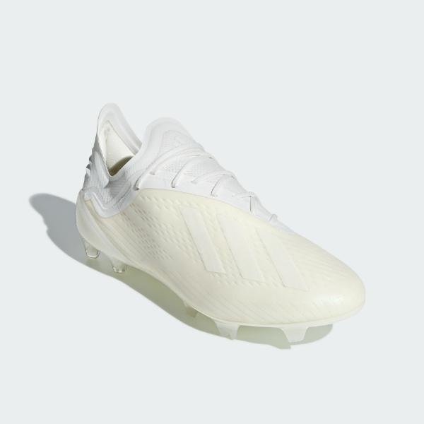 アディダス(adidas)エックス18.1 FG/AGサッカースパイク メンズ (18aw)オフホワイト/ランニングホワイト/コアブラックDB2247【0925】