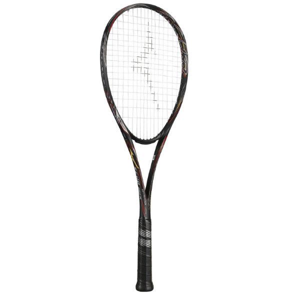 ミズノ(mizuno) SCUD PRO-R スカッド プロアール ソフトテニスラケット (19aw) ブラック 1U 63JTN95109【P8T】【P50904】【ss2003】