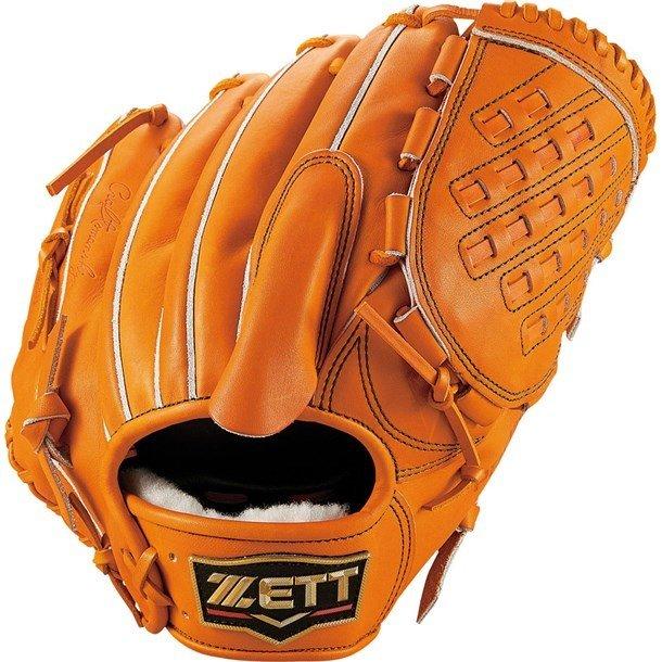 ゼット(zett) プロステイタス 硬式グラブ (19ss) オレンジ サイズ5 BPROG1N-5600 野球用品【ss2003】【P10】