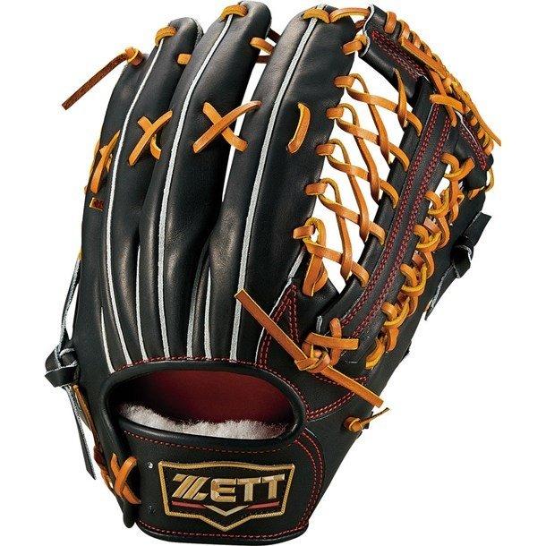 ゼット(zett) プロステイタス 硬式グラブ 外野手用 (19ss) ブラック×オークブラウン サイズ9 BPROG8T-1936 野球用品