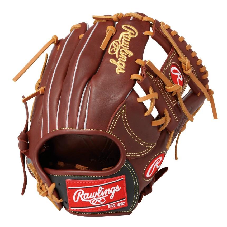 ローリングス(Rawlings) 軟式用 HYPER TECH COLORS (19ss) 一般内野手用グローブ シェリー×ブラック ハイパーテック カラーズ 右投げ GR9HTCK41-SHB 野球用品