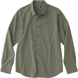 ザ・ノースフェイス(THE NORTH FACE) ロングスリーブバーナルシャツ L/S Vernal Shirt (18ss) グレープリーフ NR11802-GL【特価】【SS1903】