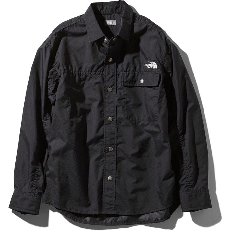 ザ・ノースフェイス(THE NORTH FACE) ロングスリーブヌプシシャツ L/S Nuptse Shirt ユニセックス (19ss) ブラック NR11961-K