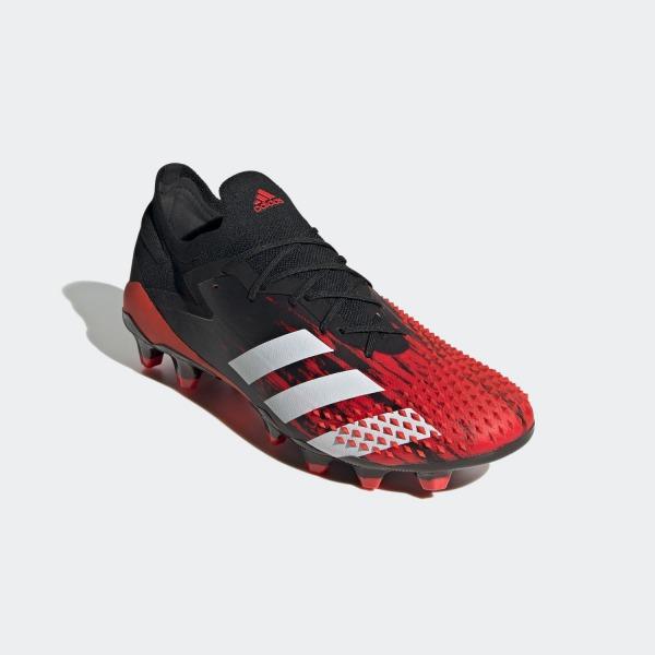 アディダス(adidas) サッカースパイク プレデター 20.1 L ジャパン HG/AG (20ss) コアブラック/フットウェアホワイト/アクティブレッド FV3200【P10】