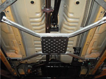 D-SPORT Copen用 ダブルクロスビーム リヤ用 品番:53605-B080