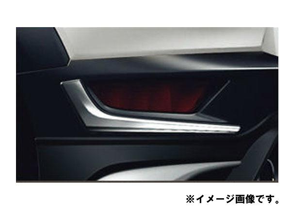 純正アクセサリー マツダ CX-3 DK H27.02~ ケンスタイル リアリフレクターガーニッシュ メッキ DKK1V4390
