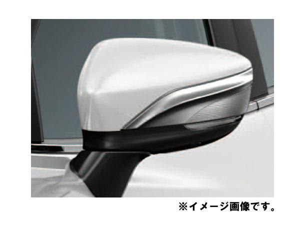 純正アクセサリー マツダ MAZDA2 DJ H31.7~ ドアミラーガーニッシュ メッキ BMK3V3650