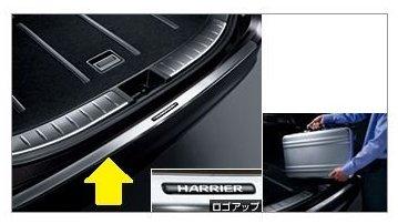 【25日24時間限定カードエントリーでポイント10倍】TOYOTA ( トヨタ ) 純正部品 HARRIER ハリアー 【ZSU60W ZSU65W AVU65W】 リアバンパーステップガード 08475-48080