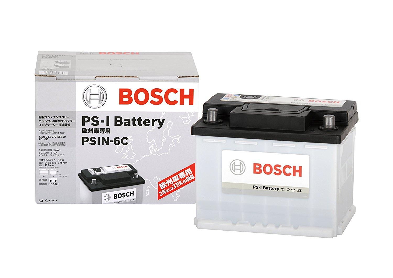 [8H7,B6] [8E2,B6] ボッシュ欧州車用バッテリーアウディ/ A3 [8E5,B6] A4 [8K5,B8] [8EC,B7] [8PA] PSIN-8C / [8ED,B7] [8K2,B8] 【送料無料】 BOSCH