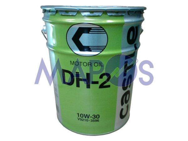 エンジンオイル トヨタ キャッスル DH-2 10W-30 20リットル ディーゼル車専用 V9210-3596 *オイル・油脂*