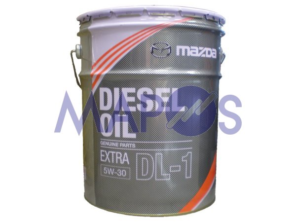 Engine oil Mazda diesel extra DL-1 5W-30 20 litre diesel car K020-W0-536 J  * oils & fats and oils *