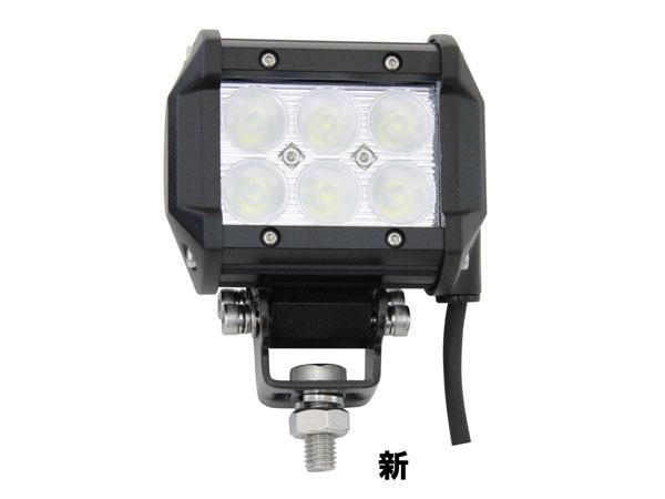 JETイノウエ WL-05 LED6ハイパワーワークランプ18W 526828 *トラック用品*