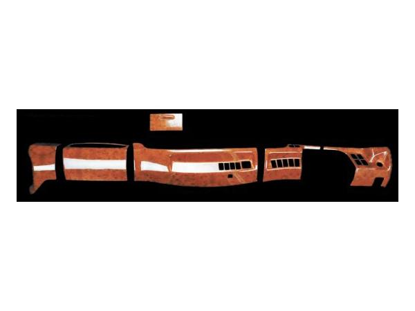 JETイノウエ インテリア3Dパネル オプションセット6点 レンジャープロ標準車 木目調 595455 *トラック用品*