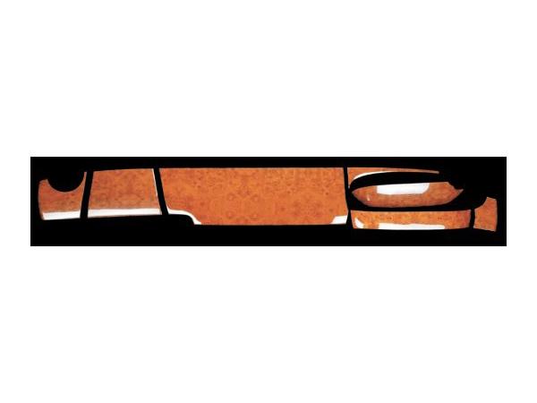 インテリア3Dパネル レンジャープロ標準 黒木目調 基本セット8点