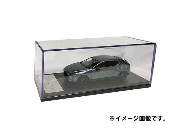 マツダコレクション モデルカー 1/43 MAZDA3 2019 ファストバック マシーングレープレミアムメタリック BM9774