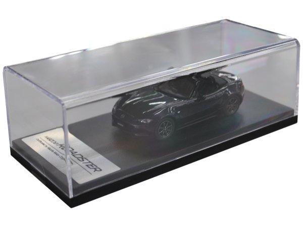 マツダコレクション モデルカー 1/43 ロードスター ND 2015 ジェットブラックマイカ BM9955