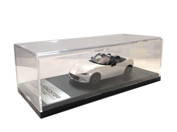 マツダコレクション モデルカー 1/43 ロードスター ND 2015 クリスタルホワイトパール BM9958