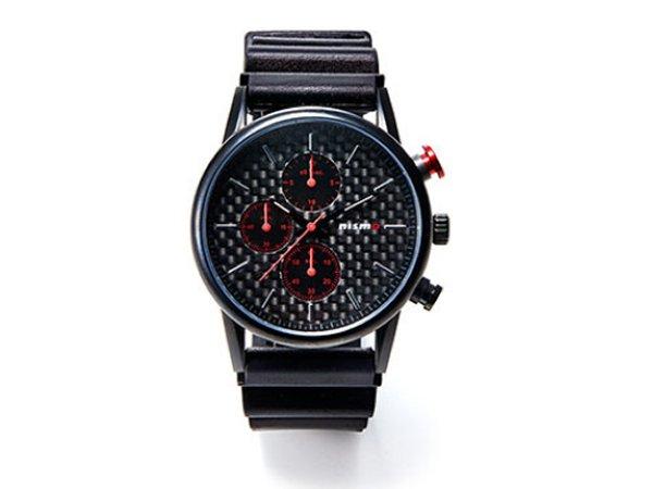 日産コレクション ファッション PREMIUM クロノグラフウォッチ カーボン KWA2050H10