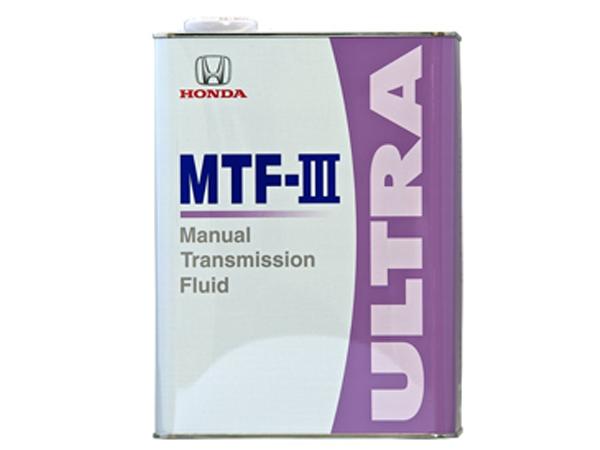 【スーパーセール!】Honda(ホンダ) マニュアルトランスミッションフルード ウルトラ MTF-III MT車用フルード 4L 08261-99964 *4リットル*