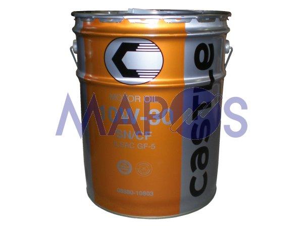エンジンオイル トヨタ キャッスル SN/CF 10W-30 20リットル ガソリン/ディーゼル兼用 08880-10803 *オイル・油脂*