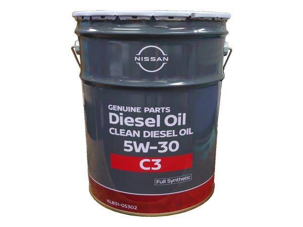 9 10限定P5倍 NISSAN クリーンディーゼル 5W30 KLB31-05302 セール SN 20L 新作多数 鉱物油