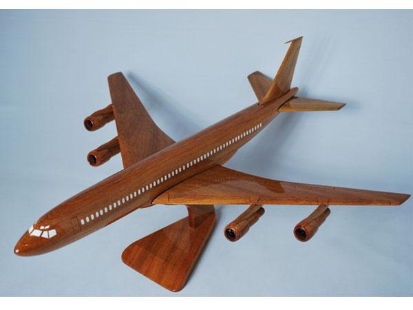 手工木制模型飞机波音 B707 解放军-049 * 模型 *