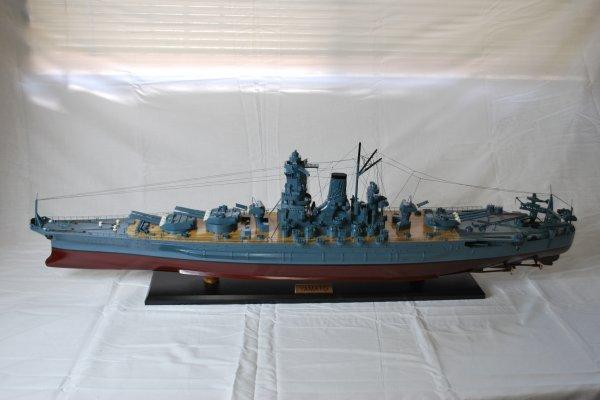 【値下げしました】手作り木製模型 船 戦艦大和 SHI-001 *模型*