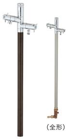 ユニソンエインスタンド 不凍栓 2口左右仕様 L1000材 質: アルミ(アルマイト仕上げ)サイズ:φ38.5×1,108(全長)mm重 量:4.8kg付属品:4.8kgGP シモク、上部蛇口、ホース用蛇口メーカー直送のため代引決済はできません。