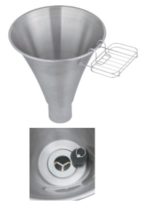 ユニソンウォーターポットフィーノポットφ300サイズ:φ300×高さ267(337)重 量:1.3kg 付属品:小物置き、ゴム栓メーカー直送のため代引決済はできません。